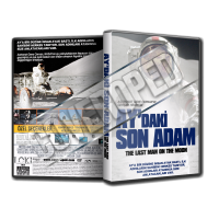 Ay'daki Son Adam - The Last Man on the Moon Belgesel Cover TAsarımı (Dvd Cover)