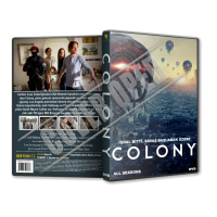 Colony TV Series Türkçe Dvd Cover Tasarımı