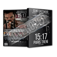 15 17 Paris Treni - The 15 17 to Paris 2018 Türkçe Dvd Cover Tasarımı