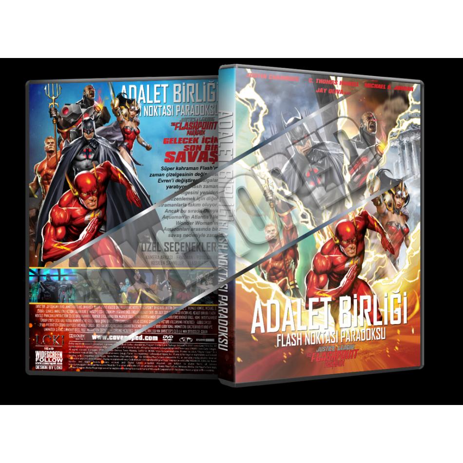 adalet birligi flash noktasi paradoksu 2013 turkce dvd cover tasarimi