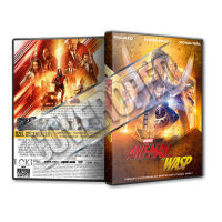 Ant Man and the Wasp 2018 Türkçe Dvd Cover Tasarımı