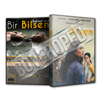 Bir Bilsen The Half Of It 2020 Turkce Dvd Cover Tasarimi
