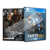 Earthfall Invasion Pc Game Cover Tasarımı