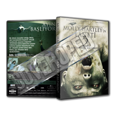 Molly Hartley'in Laneti 2 2015 Türkçe Dvd cover Tasarımı