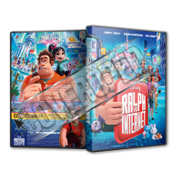 Ralph ve İnternet - Ralph Breaks the Internet - 2018 Türkçe Dvd cover Tasarımı