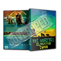 The One and Only Ivan - 2020 Türkçe Dvd Cover Tasarımı