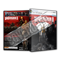 Wolfenstein II The New Colossus Pc Game Cover Tasarımı (Dvd Cover)