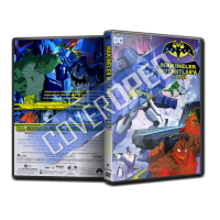 Batman Makineler Mutantlara Karşı - Batman Unlimited: Mechs vs. Mutants V1 Cover Tasarımı