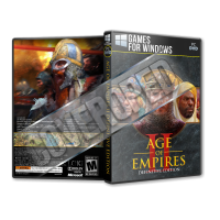 Age of Empires II Definitive Edition Pc Game Cover Tasarımı