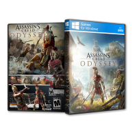 Assassins Creed Odyssey Pc Game Cover Tasarımı