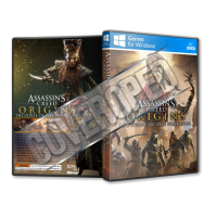 Assassins Creed Origins The Curse of the Pharaohs Pc Game Cover Tasarımı