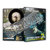 Beyond Enemy Lines 2 Burning Sand - 2019 Pc Game Cover Tasarımı