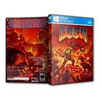Doom 1993 Pc Game Cover Tasarımı