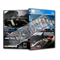 F1 2018 Pc Game Cover Tasarımı