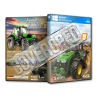 Farming Simulator 19 Pc Game Cover Tasarımı