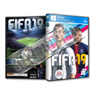 Fifa 19 Pc Game Cover Tasarımı