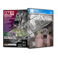 Football Manager 2019 Pc Game Cover Tasarımı