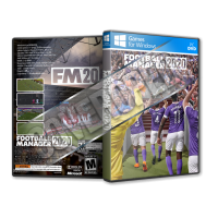 Football Manager 2020 Pc Game Cover Tasarımı