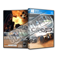 Grip Combat Racing Pc Game Cover Tasarımı
