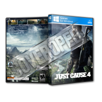 Just Cause 4 Pc Game Cover Tasarımı