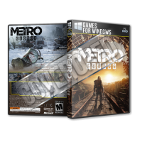 Metro Exodus Pc Game Cover Tasarımı