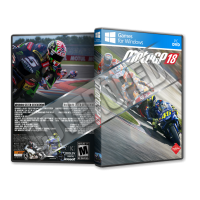MotoGP 18 Pc Game Cover Tasarımı