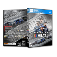 NASCAR Heat 3 Pc Game Cover Tasarımı