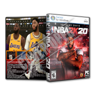 NBA 2K20 2019 PC Game DVD Cover Tasarımı