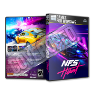 Need For Speed Heat Pc Game Türkçe Dvd Cover Tasarımı