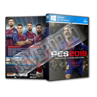 Pes 19 Pc Game Cover Tasarımı