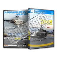 Police Helicopter Simulator Pc Game Cover Tasarımı