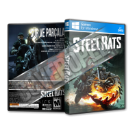 Steel Rats Pc Game Cover Tasarımı