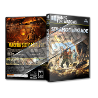 Strange Brigade Pc Game Cover Tasarımı