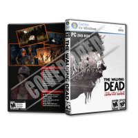 The Walking Dead The T.D.Series 2019 PC Game DVD Cover Tasarımı