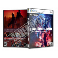 Wolfenstein Youngblood - 2019 PC Game DVD Cover Tasarımı